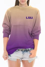 Shoptiques Product: Lsu Ombre Jersey - Front full body