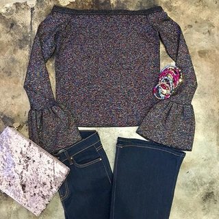 Shoptiques Product: Multi Shimmer Sweater