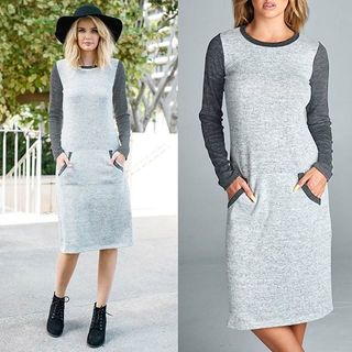 Shoptiques Knit Midi Dress