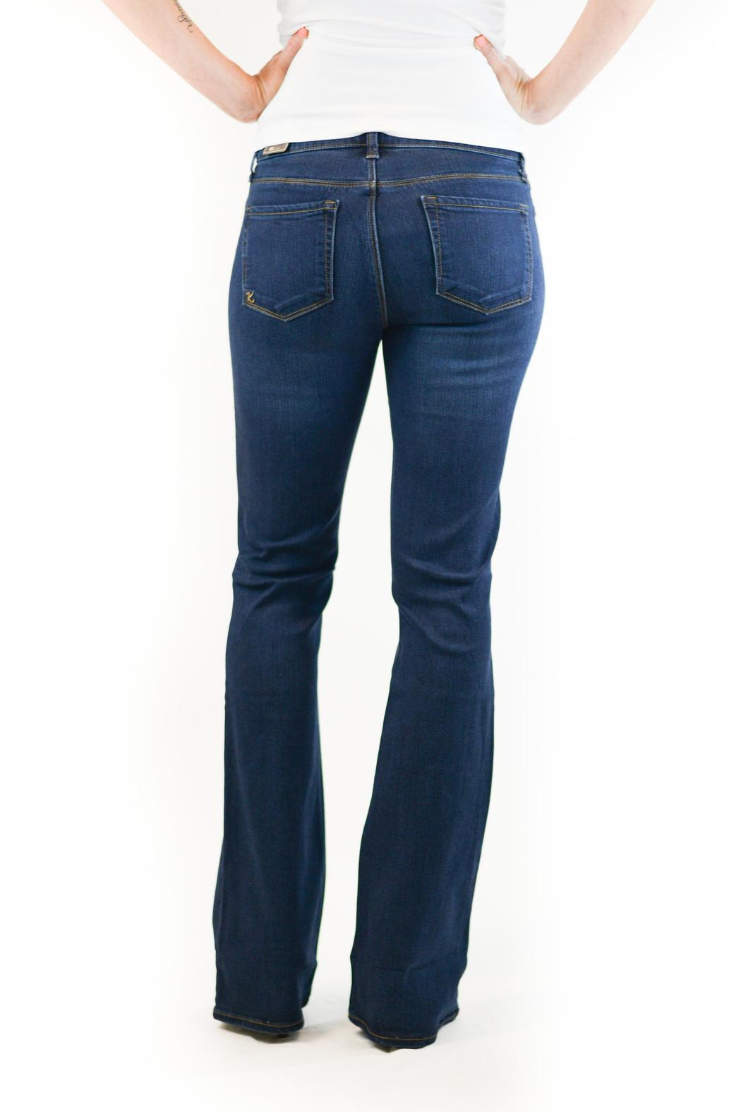 Kut from the Kloth Slim Bootcut Denim - Back Cropped Image