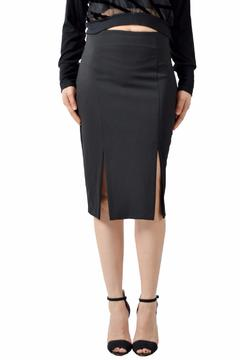 Shopettes Double Slit Skirt - Alternate List Image