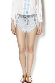 Finders Keepers Chambray Denim Shorts - Product Mini Image