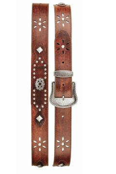 New classic Western Cutout Belt - Product List Image