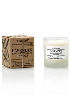 Elizabeth W Lavender Aromatherapy Candle - Alternate List Image