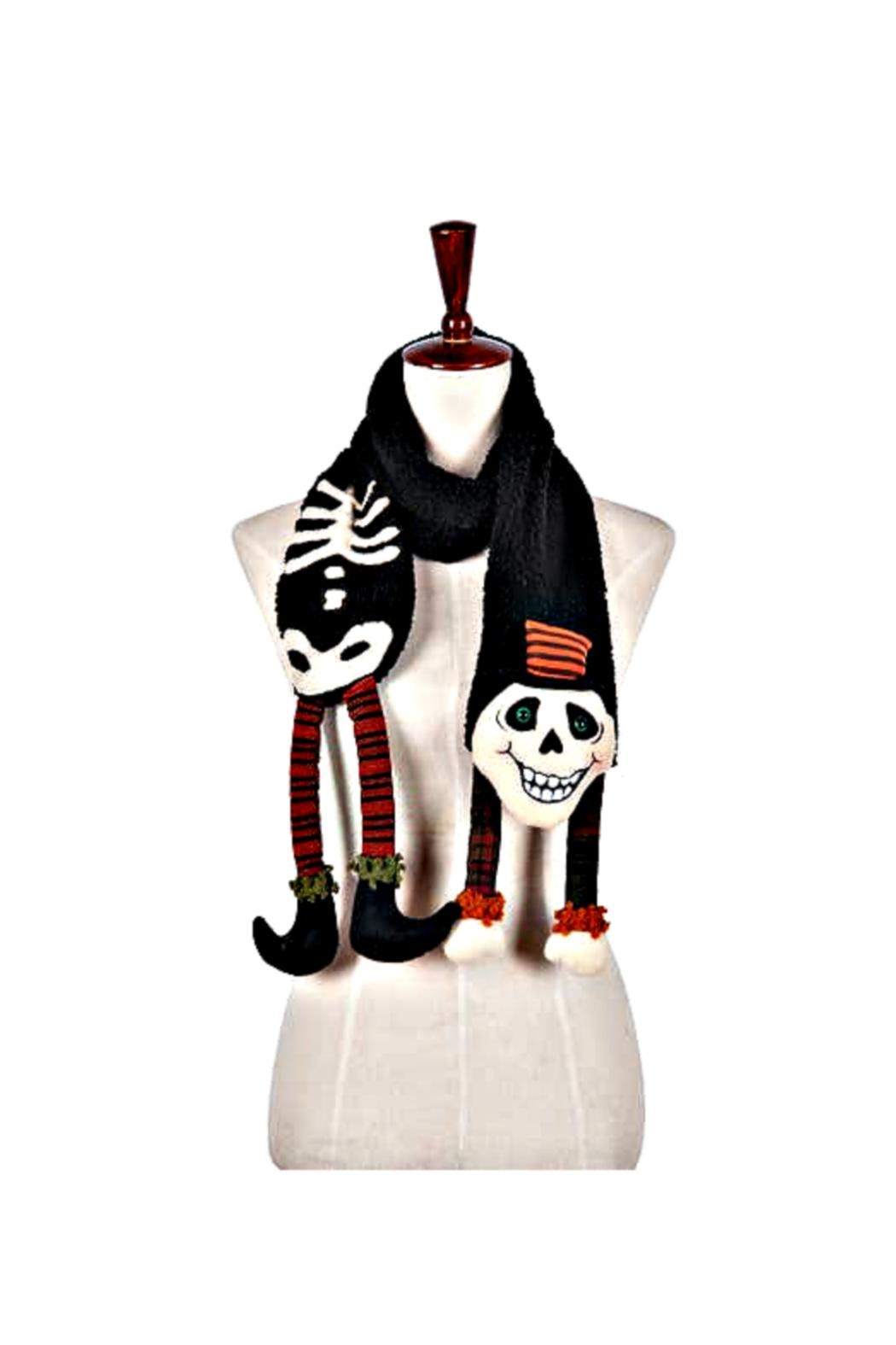 C & F Home Skeleton Scarf - Front Cropped Image