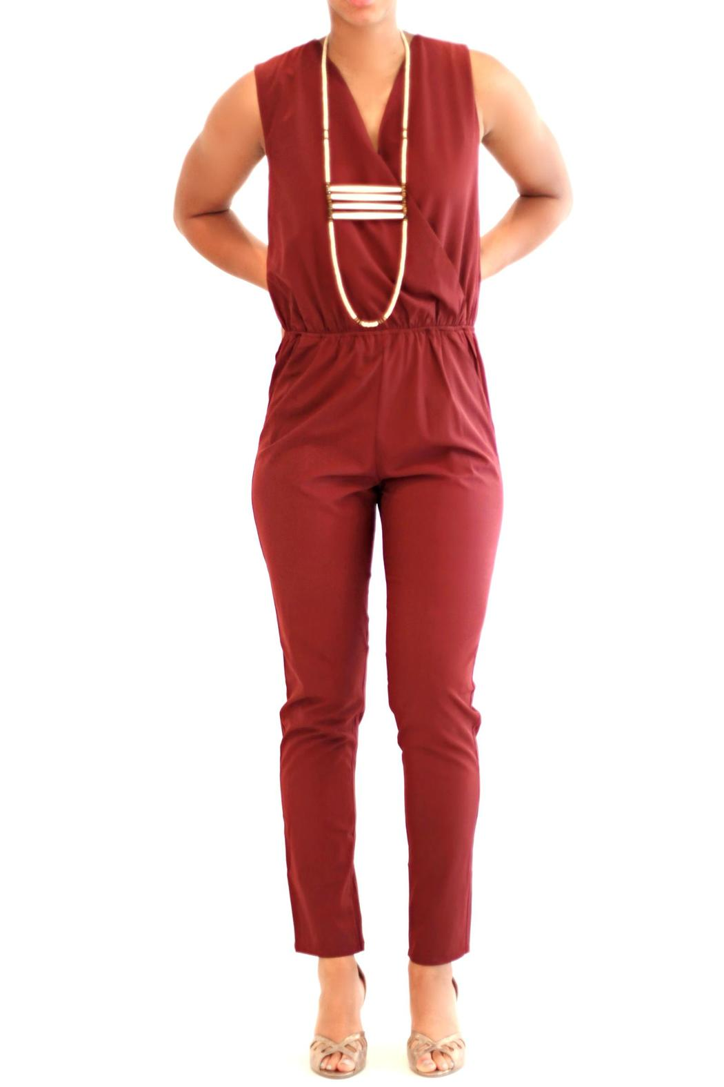 C Luce Burgundy Jumpsuit From Atlanta By Sole Shoes U0026 Accessories U2014 Shoptiques