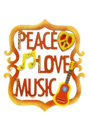 C Roses Peace Aluminum Wall Art - Product Mini Image