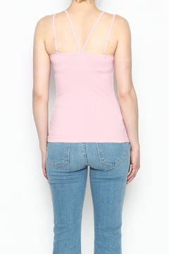 Ca Winner Metallic Neckline Tank - Alternate List Image