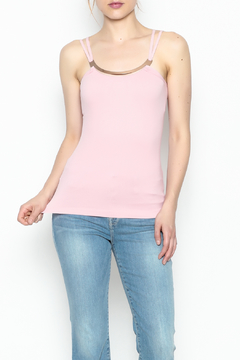 Ca Winner Metallic Neckline Tank - Product List Image