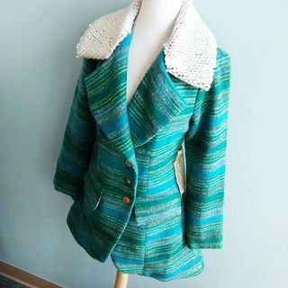 Shoptiques Product: Green Blue Jacket