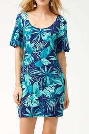 Tommy Bahama Cabana-Colores Tambour Flounce-Sleeve - Front cropped