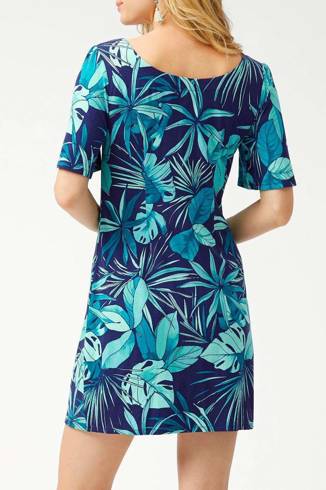 Tommy Bahama Cabana-Colores Tambour Flounce-Sleeve - Front Full Image