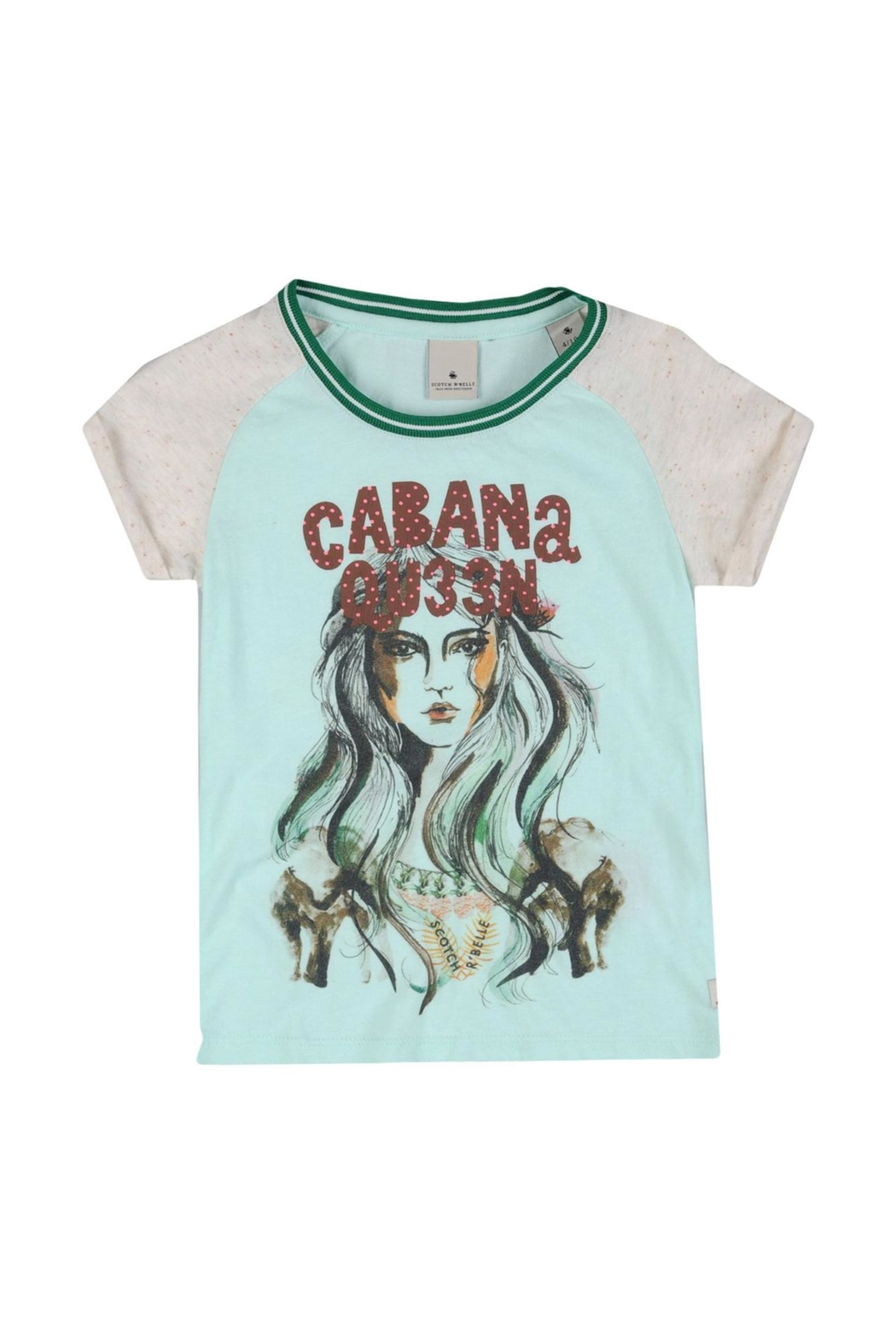 Scotch R'Belle Cabana Queen Tee - Front Cropped Image