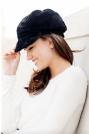 Fabulous Furs Cabbie Hat - Front full body
