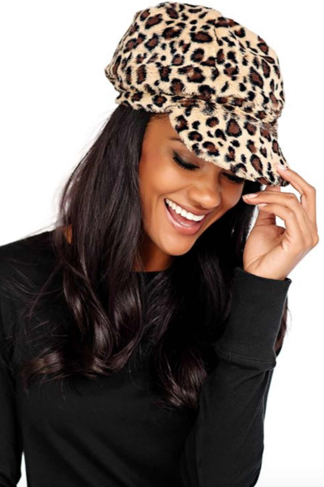 Fabulous Furs Cabbie Hat - Side Cropped Image