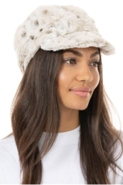 Fabulous Furs Cabbie Hat - Front cropped