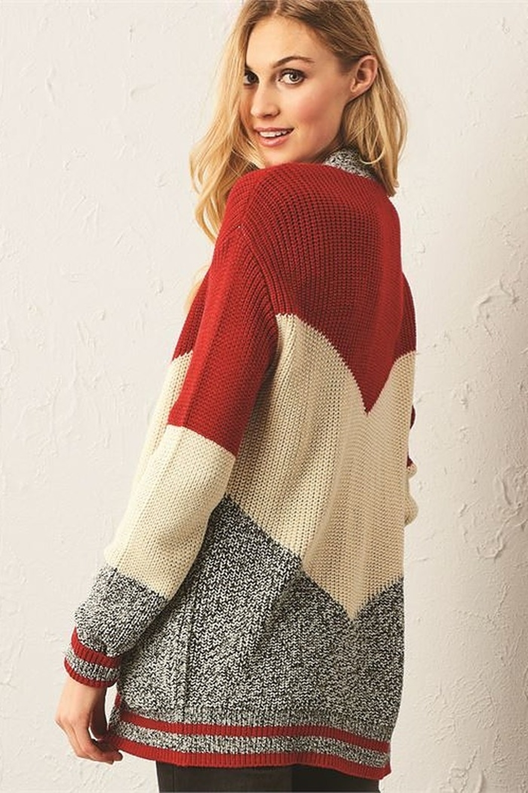 Charlie Paige Cabin Cardigan - Side Cropped Image