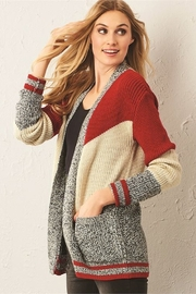 Charlie Paige Cabin Cardigan - Front full body