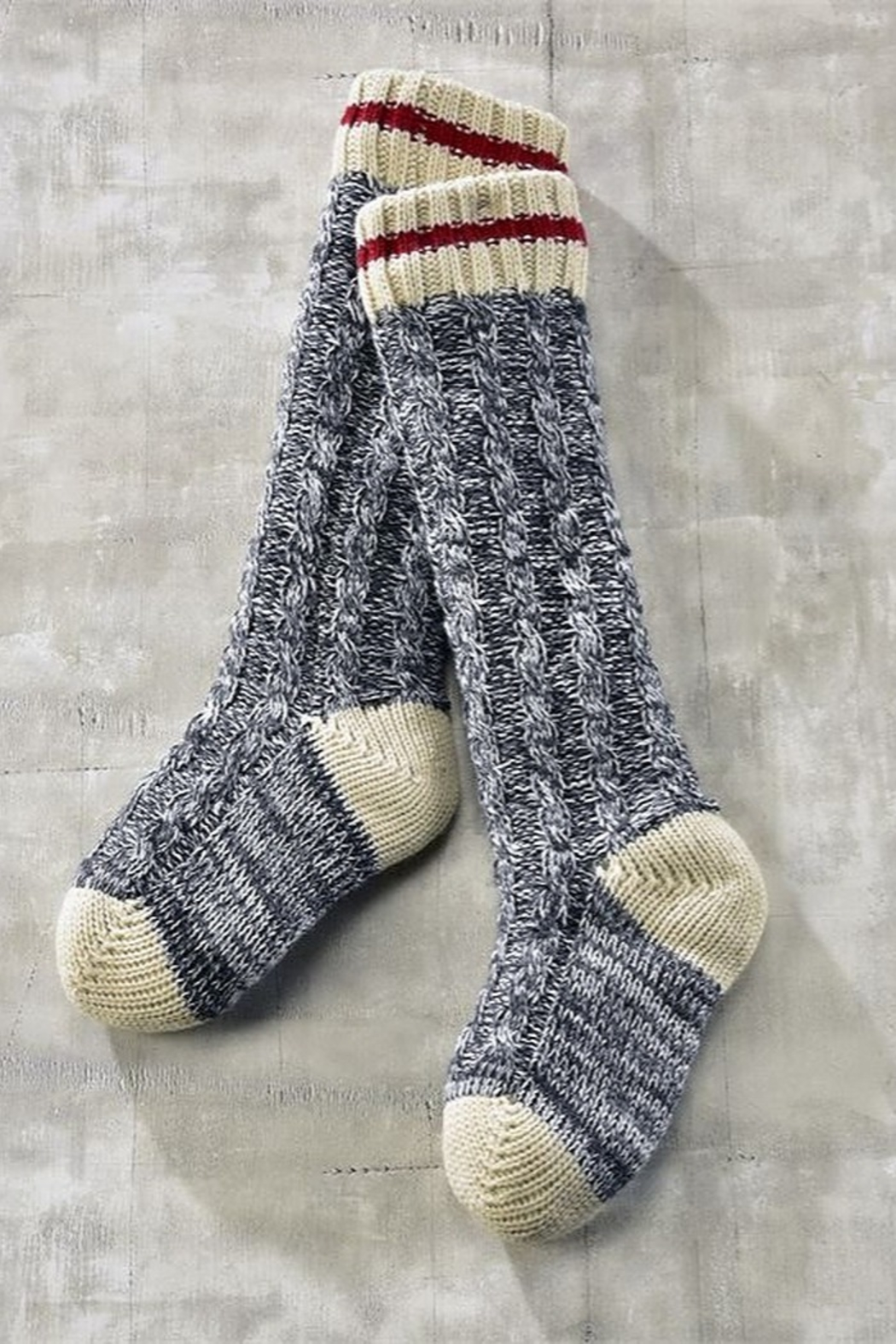 Charlie Paige Cabin Sherpa-lined slipper-sox - Main Image