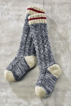 Charlie Paige Cabin Sherpa-lined slipper-sox - Product List Image