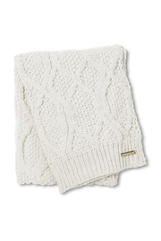 Lets Accessorize Cable-Knit Bobble Scarf - Product Mini Image