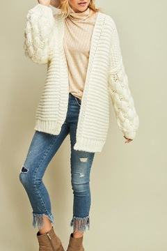 Entro Cable Knit Cardigan - Product List Image