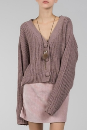 POL Cable Knit Crop - Product Mini Image