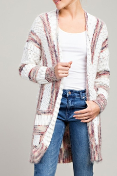 L Love Cable Knit Cutie cardigan - Product List Image