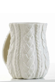 Gift Craft Cable-Knit hand-warmer mug - Product Mini Image