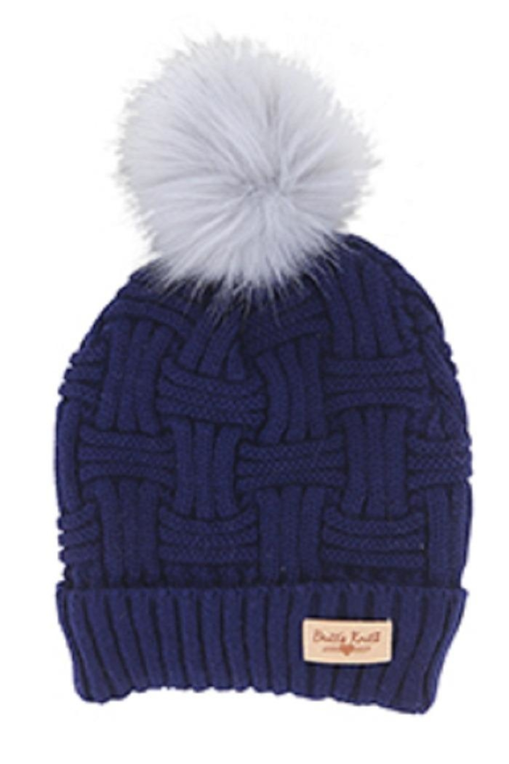 Bling It Around Again Cable Knit Hat - Main Image