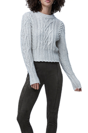 French Connection Cable Knit Jumper - Front cropped