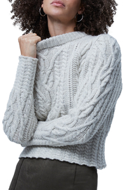 French Connection Cable Knit Jumper - Front full body