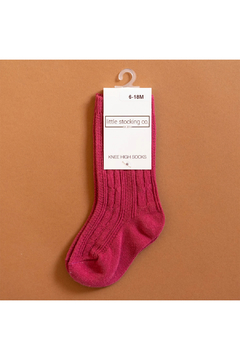 Shoptiques Product: Cable Knit Knee High Socks
