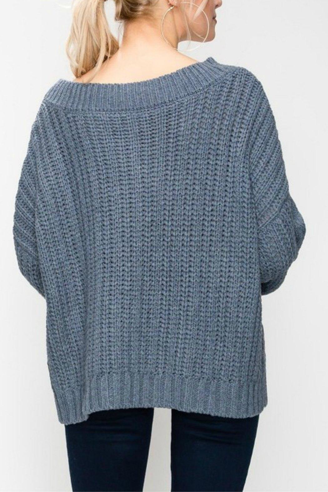 Favlux Cable Knit Oversized - Front Full Image
