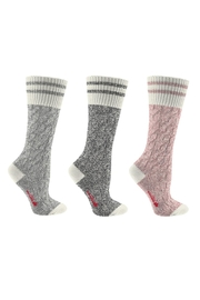 Great Northern Cable Knit Sock - Product Mini Image