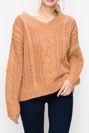 Favlux Cable Knit Sweater - Product Mini Image