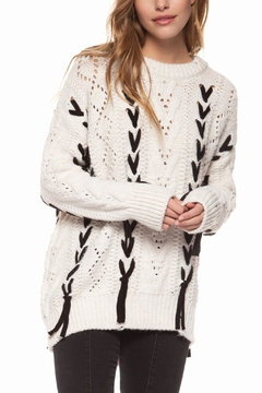 Shoptiques Product: Cable Knit Sweater