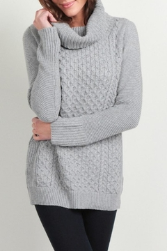 Skies Are Blue Cable Knit Sweater - Product List Image