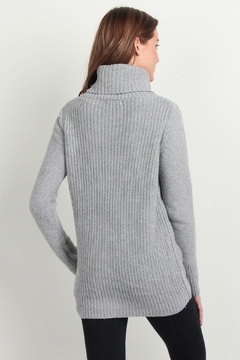 Skies Are Blue Cable Knit Sweater - Alternate List Image