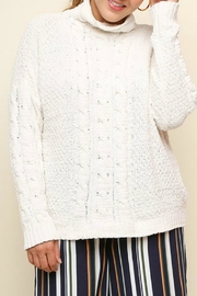 Umgee USA Cable Knit Sweater - Product Mini Image