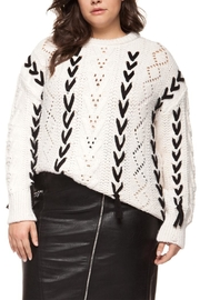 Dex Cable Knit Sweater - Product Mini Image