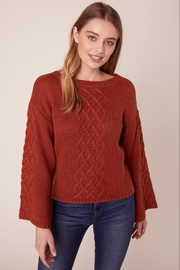 BB Dakota CABLE KNIT SWEATER - Product Mini Image