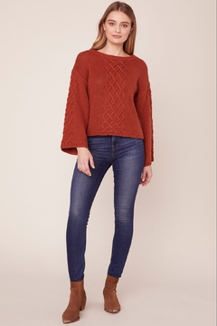 BB Dakota CABLE KNIT SWEATER - Alternate List Image