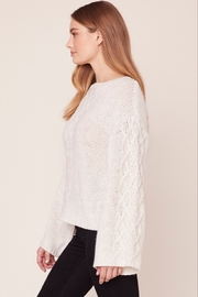 BB Dakota CABLE KNIT SWEATER - Side cropped