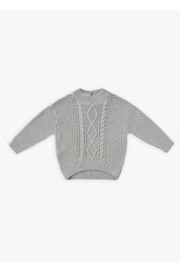 Quincy Mae Cable Knit Sweater - Product Mini Image