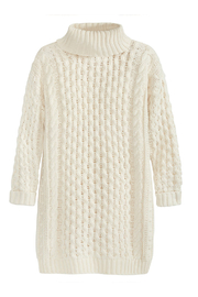 525 America Cable Knit Sweater Dress - Product Mini Image