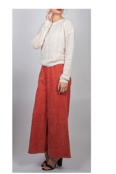Shoptiques Product: Cable-Knit Sweater Ivory