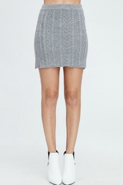 Emory Park Cable-Knit Sweater Skirt - Product Mini Image