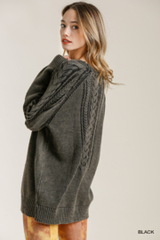 umgee  CABLE KNIT SWTR - Front full body