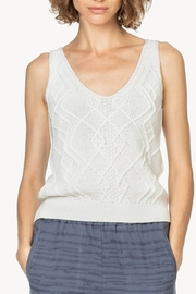 Lilla P Cable Knit Tank - Product Mini Image